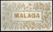 Ancienne Etiquette de Vin - Malaga - Réf.244