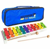 Sonor BWG Boomwhackers Glockenspiel + keepdrum MB01Tasche Bag