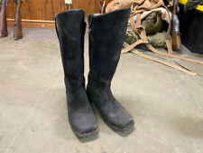 Indian Wars Us Union M1872 Cavalry Horse Riding Black Leather Boots-Size 10