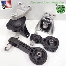For 2006-2011 Honda Civic 1.8L Auto Automatic Engine Mount Set Combo AT 4 Piece