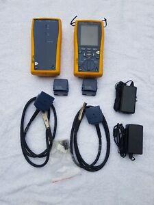 Fluke Networks DTX 1800 Cat 6 Cable Copper Fiber Analyzer Certifier DTX-1800