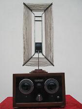 RADIO MUSE 1920's  6 Röhre + ANTENNE WORKs Detektor empfänger Detektorempfänger