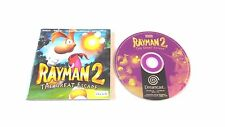 RAYMAN 2 : THE GREAT ESCAPE , dreamcast, only the disc and instruction manual