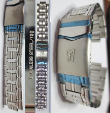 cinturino ansa 20 festina 100 crono strap band steel watch chronograph original