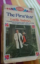 The First Year by Lucilla Andrews 055095036