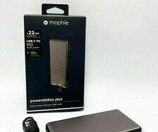mophie Powerstation Plus Power Bank 6,000 mAh for Micro USB & Lightning Adapter