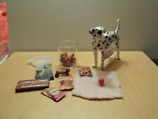 dollhouse miniature Dalmatian lot