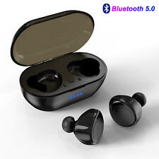 New listing True Wireless Bluetooth 5.0 Earbuds Stereo Headset Earphone For iPhone Samsung
