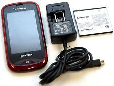 Pantech CDM8992 Hotshot Red Verizon Cell Phone Touchscreen GPS Bluetooth Cam -B-