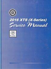 2016 Cadillac Xts Service Repair Workshop Shop Manual 4 Volume Book Set Gmp16Xts(Fits: Cadillac)