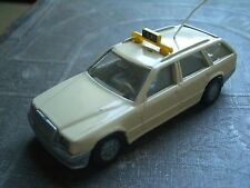 Siku 1063 1064 Mercedes Benz 300 E/TE Taxi beige Auto PKW E Kombi W124  car Auto