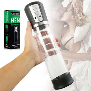 UK!Electric Penis Vacuum Pump Enlargement Automatic ED Helper Extender Enhancer