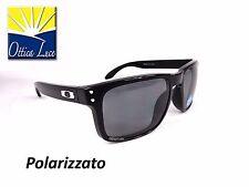OAKLEY HOLBROOK 9102 02 BLACK GREY POLAR Sunglass Sonnenbrille Occhiali Sole