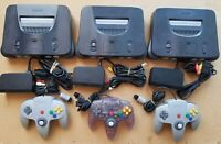 Nintendo 64 Console Complete Tested And Working, Please Read!