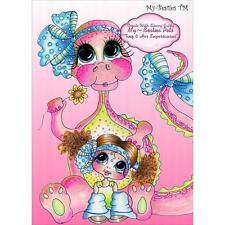 NEW My-Besties digital image CD stamps, PNGS  papers Tiny & Her supersaurus