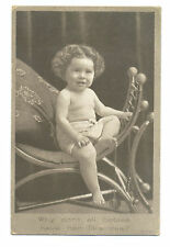 Resinol Soap trade card - shows named toddler - with beautiful skin