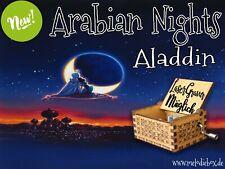 Aladdin - Arabian Nights Spieluhr Musicbox Neu Fanartikel