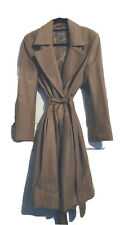 Jeager Camel Wool Coat / Size 12 / New