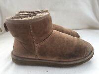 Ugg Mini Classic Brown Boots Size 6.5 UK Womens