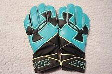UNDER ARMOUR SPINE SOCCER GOALKEEPER GLOVES YOUTH (5) TEAL/VOLT/WHITE