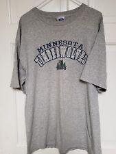 NBA Minnesota Timberwolves T shirt, Mens L, Gray