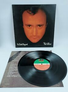 Phil Collins - No Jacket Required Atlantic 1985 81240-1-E Vinyl Record VG+