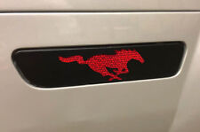 Custom Vinyl REAR SIDE MARKER Decal Wrap PONY Kit for 2005-2009 Ford Mustang GT