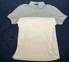 J.Lindeberg Golf Men's XL Polo white/gray