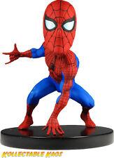 Spiderman - Classic Spiderman Head Knocker Bobble Head NEW IN BOX