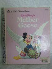 """Vintage Little Golden Book """"Walt Disney's Mother Goose"""""""