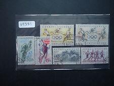 Czechoslovakia 1956 Sports Events (6v Set) (SG 923-926) Good Used