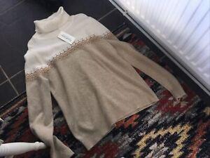 merino wool jumper medium,12/14 New By Woolovers
