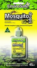 EnviroSafe MOSQUITO DROPS 45ml Controls Mosquito Breeding on Water Surface