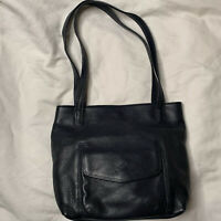 Stone Mountain Pebbled Leather Handbag Purse Shoulder Bag Essential Tote