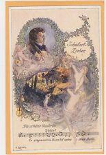 Music Postcard - Franz Schubert Lieder Die Schone Millerin by O Elsner #5
