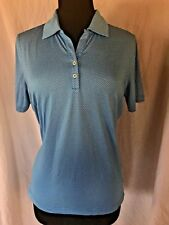 Oxford Golf Tennis Polo Shirt Collared Buttons Superdry Vented Blue Men's Medium