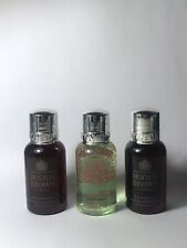 Molton Brown London Rosa Absolute & Eucalyptus Body Wash Shower Gel 3x1oz
