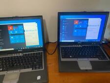 Lot of 2 Dell Latitude D630 Core 2 Duo 2.00GHz / 3GB / 160GB WINDOWS 10PRO WIFI