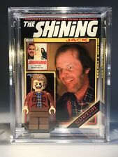 Jack Nicholson The Shining Custom Mini Action Figure w Display Case Mini-fig 400