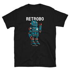 Vintage Robot Retro Old School Time Capsule T-Shirt