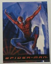 2002 Spider-Man Promos NNO Motion Picture Event Topps Marvel Movie 2001 Stan Lee