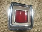 1969 69 PLYMOUTH GTX TAILLIGHT HOUSINGS,LENS & TRIM LEFT LH RARE  for sale