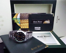 ROLEX 40mm Stainless Steel MILGAUSS Green Crystal Black Index 116400 SANT BLANC