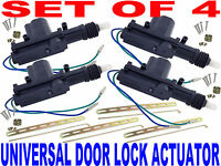 NEW UNIVERSAL Door Lock Actuator (SET OF 4) BEST QUALITY! FAST FREE USA SHIPPING
