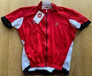 Brand New Original CASTELLI INERZIA WINDPROOF CYCLING Jersey S