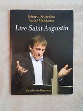 Lire Saint-Augustin - Gérard Depardieu - André Mandouze