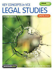 Key Concepts in VCE Legal Studies Units 3 & 4 & eBookPLUS by Peter Farrar,...