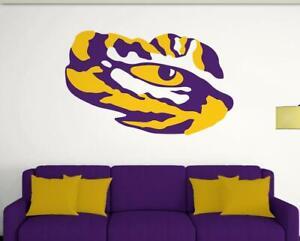LSU Tigers Eye Decal ~ Car Truck Vinyl Sticker - Cornholes, Wall Graphics
