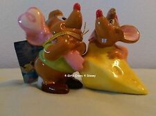 Disney Gus Gus and Jaq from Cinderella  salt and pepper shaker New in box