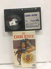 The Court Jester Danny Kaye Betamax Tape